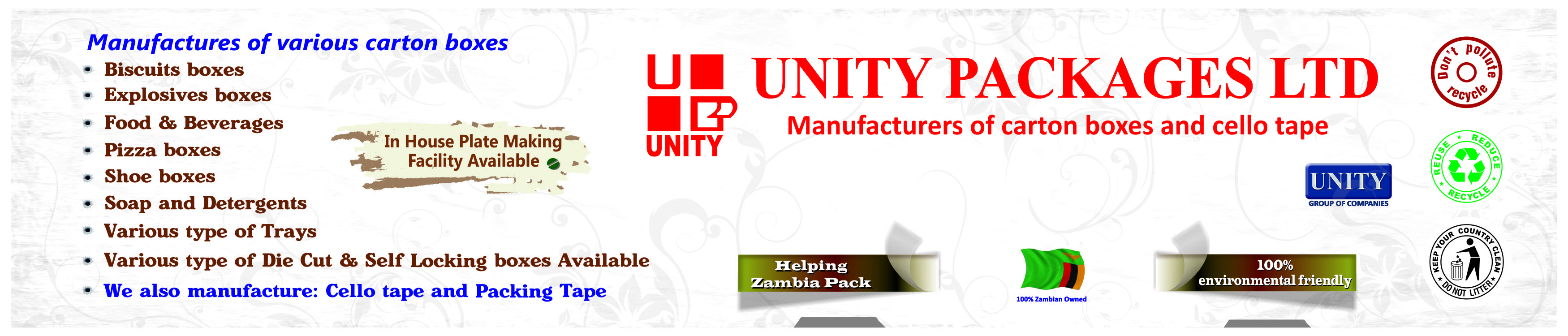 UNITY CONTAINER ADVERT - 1